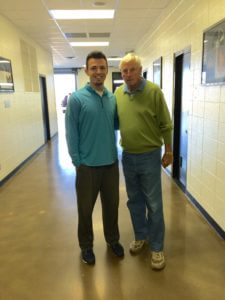 My Son, Duncan with Bobby Knight